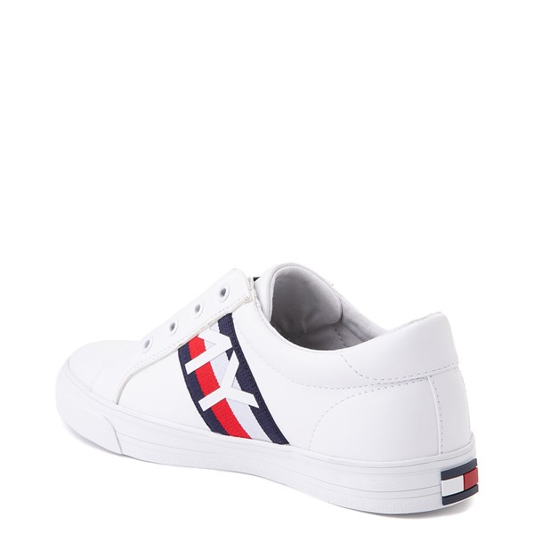 alternate view Womens Tommy Hilfiger Olene Slip On Casual Shoe - WhiteALT1
