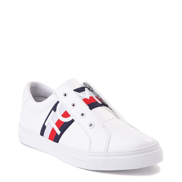 alternate view Womens Tommy Hilfiger Olene Slip On Casual Shoe - WhiteALT5