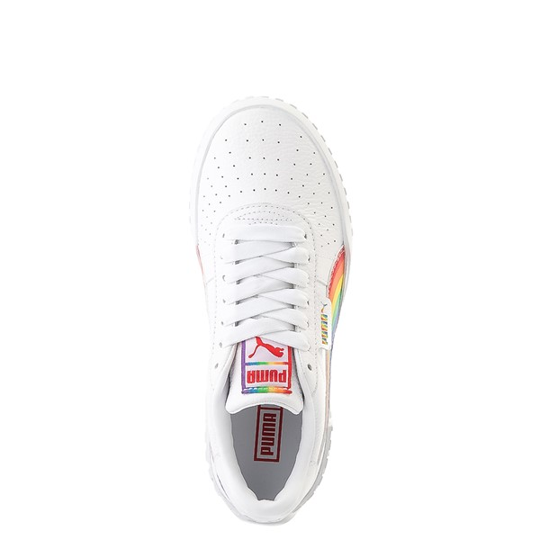 alternate view Womens Puma Cali Fashion Athletic Shoe - White / MultiALT2