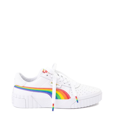 Main view of Womens Puma Cali Fashion Athletic Shoe - White / Multi