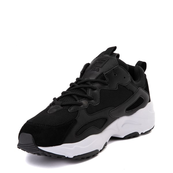 alternate view Mens Fila Ray Tracer Athletic Shoe - BlackALT2