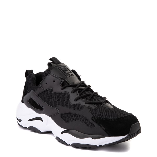 alternate view Mens Fila Ray Tracer Athletic Shoe - BlackALT5