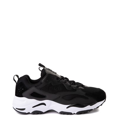 Main view of Mens Fila Ray Tracer Athletic Shoe - Black