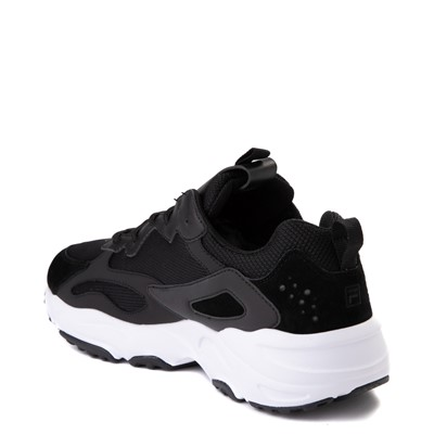 Alternate view of Mens Fila Ray Tracer Athletic Shoe - Black