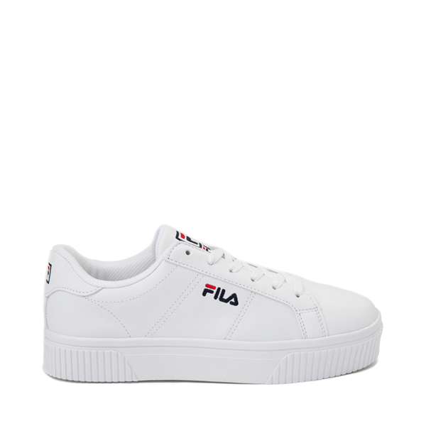 Womens Fila Panache Platform Athletic Shoe - White