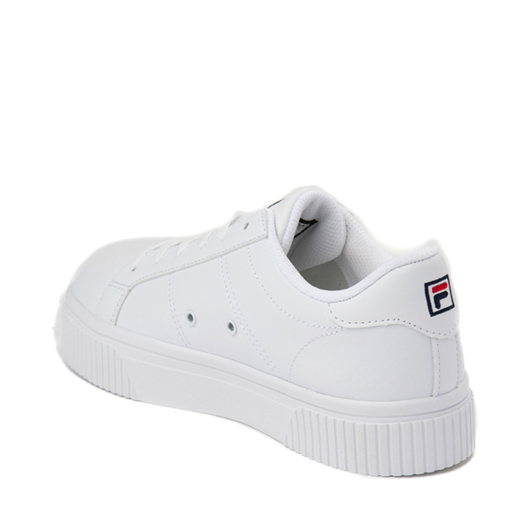 alternate view Womens Fila Panache Platform Athletic Shoe - WhiteALT1
