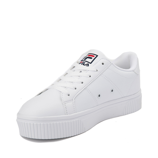 alternate view Womens Fila Panache Platform Athletic Shoe - WhiteALT2