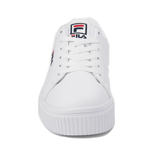 alternate view Womens Fila Panache Platform Athletic Shoe - WhiteALT4