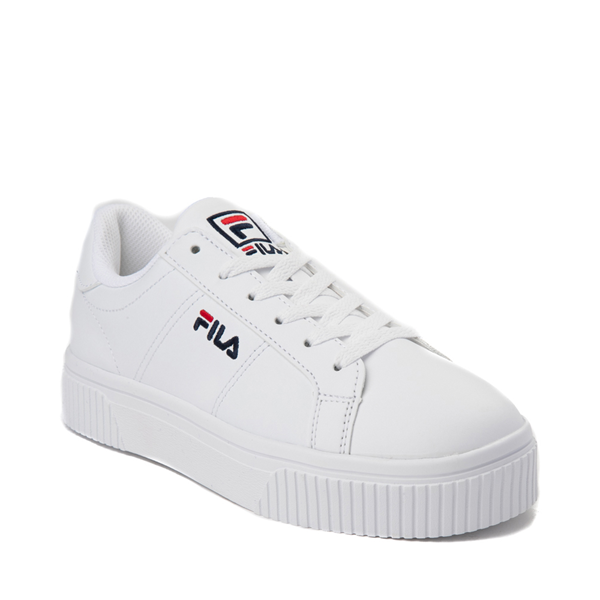 alternate view Womens Fila Panache Platform Athletic Shoe - WhiteALT5