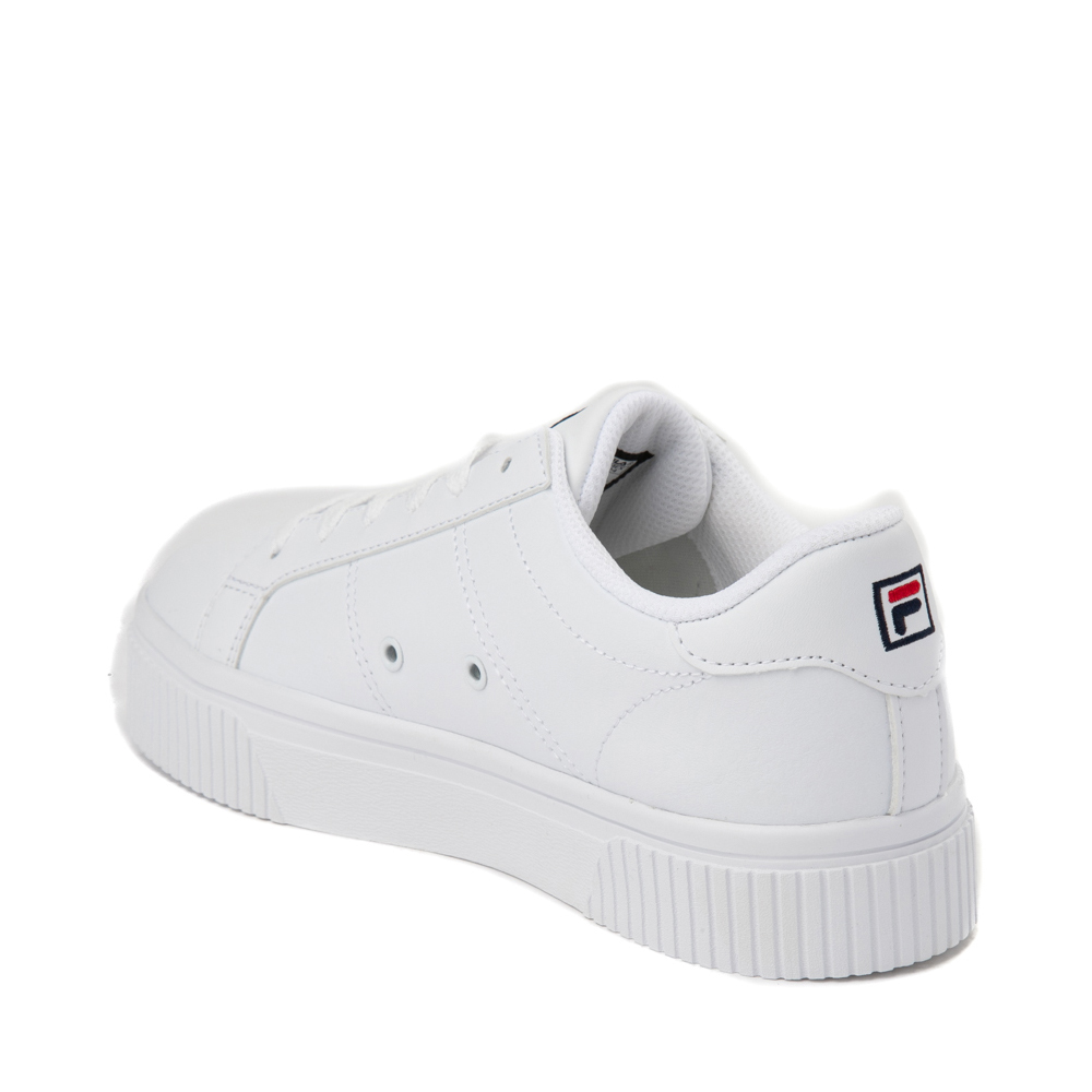 Womens Fila Panache Platform Athletic Shoe White