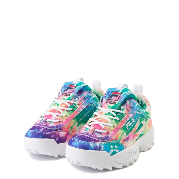 alternate view Fila Disruptor 2 Athletic Shoe - Little Kid - Tie DyeALT3