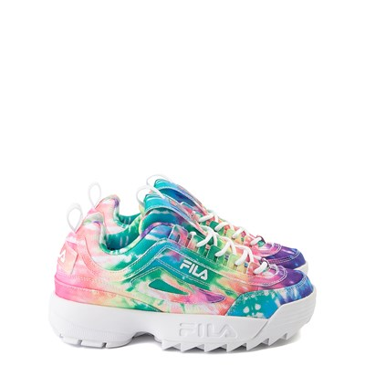 Main view of Fila Disruptor 2 Tie Dye Athletic Shoe - Little Kid - Multi