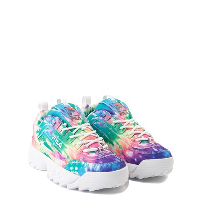 Alternate view of Fila Disruptor 2 Tie Dye Athletic Shoe - Little Kid - Multi
