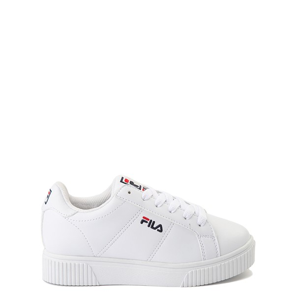 Fila Panache Platform Athletic Shoe - Little Kid - White