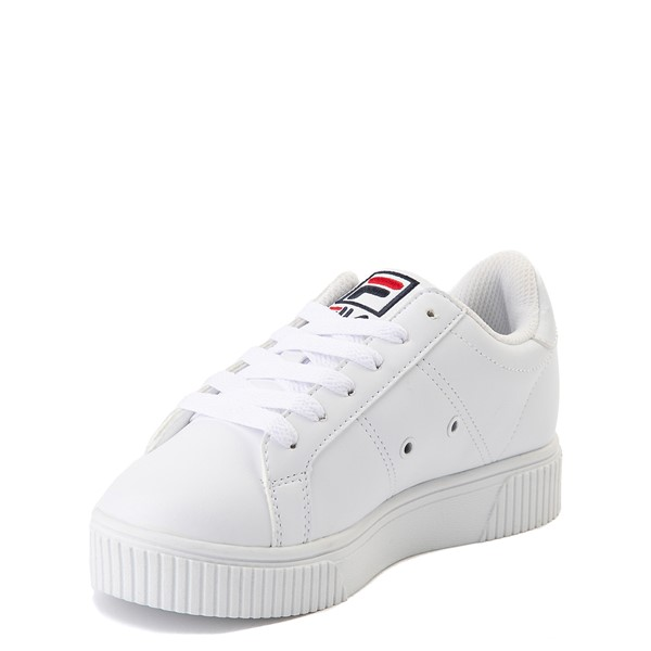alternate view Fila Panache Platform Athletic Shoe - Little Kid - WhiteALT2