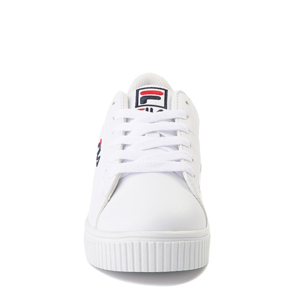 alternate view Fila Panache Platform Athletic Shoe - Little Kid - WhiteALT4