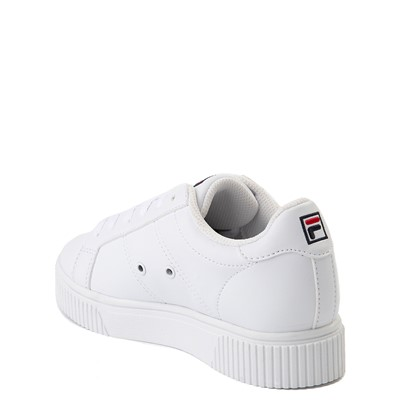 Alternate view of Fila Panache Platform Athletic Shoe - Little Kid - White