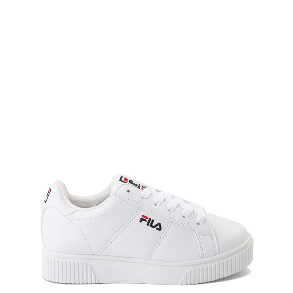 Fila Panache Platform Athletic Shoe - Big Kid - White