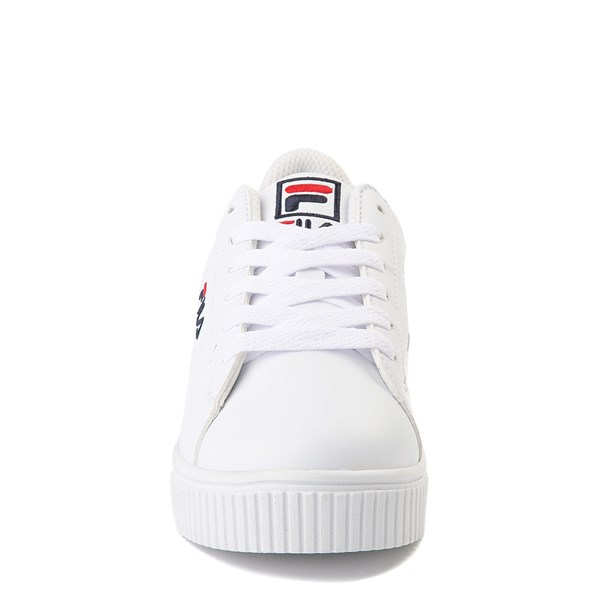 alternate view Fila Panache Platform Athletic Shoe - Big Kid - WhiteALT4