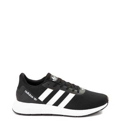 Main view of Mens adidas Swift Run RF Athletic Shoe - Black