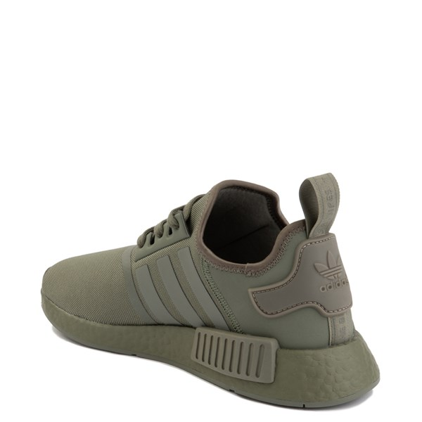 alternate view Mens adidas NMD R1 Athletic Shoe - Olive MonochromeALT2