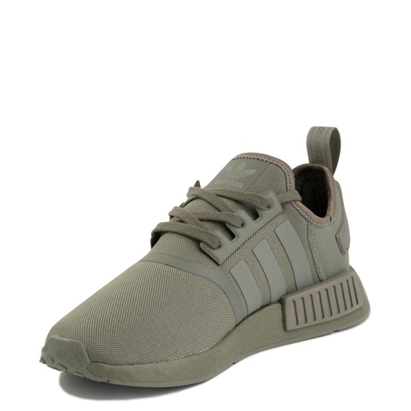 alternate view Mens adidas NMD R1 Athletic Shoe - Olive MonochromeALT3