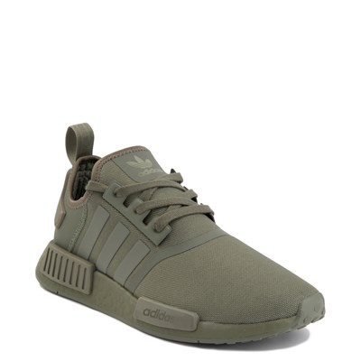 Alternate view of Mens adidas NMD R1 Athletic Shoe - Olive Monochrome