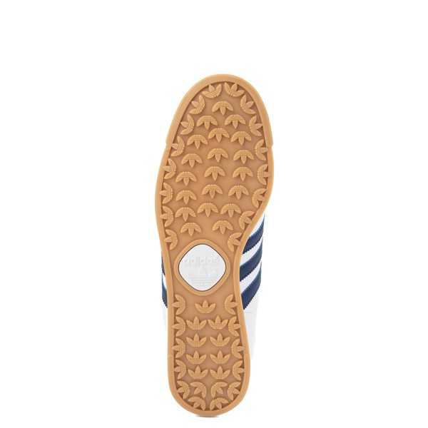 alternate view Mens adidas Samoa Athletic Shoe - White / Tech IndigoALT3