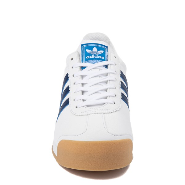 alternate view Mens adidas Samoa Athletic Shoe - White / Tech IndigoALT4