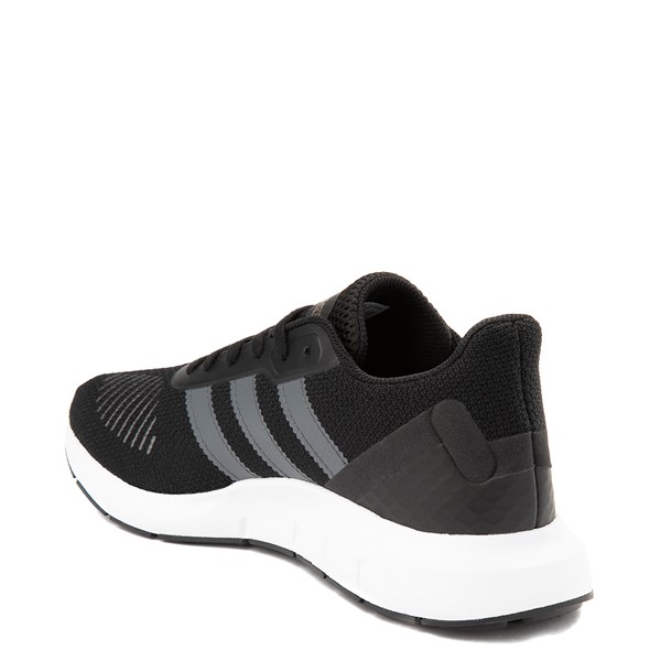 alternate view Womens adidas Swift Run RF Athletic Shoe - Core Black / GrayALT1