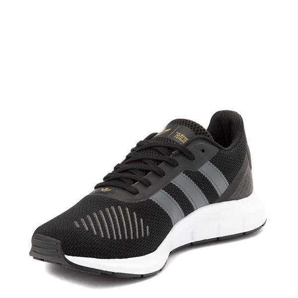 alternate view Womens adidas Swift Run RF Athletic Shoe - Core Black / GrayALT2
