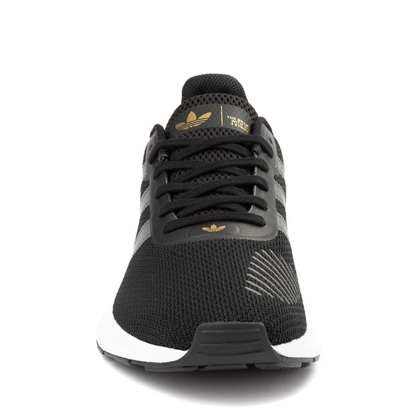 alternate view Womens adidas Swift Run RF Athletic Shoe - Core Black / GrayALT4