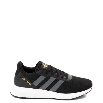 Main view of Womens adidas Swift Run RF Athletic Shoe - Core Black / Gray