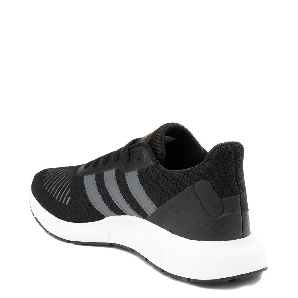 núcleo frijoles dueña  Womens adidas Swift Run RF Athletic Shoe - Core Black / Gray | Journeys
