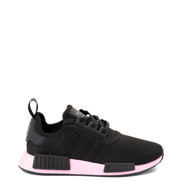 Womens adidas NMD R1 Athletic Shoe - Black / True Pink