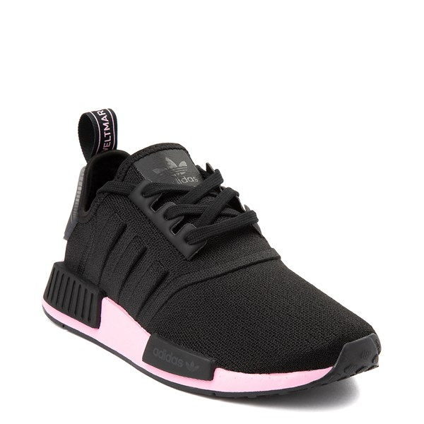 alternate view Womens adidas NMD R1 Athletic Shoe - Black / True PinkALT1