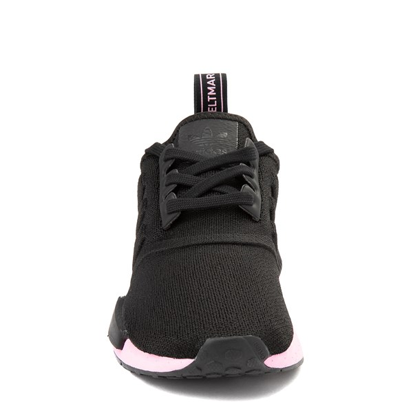 alternate view Womens adidas NMD R1 Athletic Shoe - Black / True PinkALT4