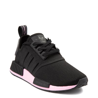 Alternate view of Womens adidas NMD R1 Athletic Shoe - Black / True Pink