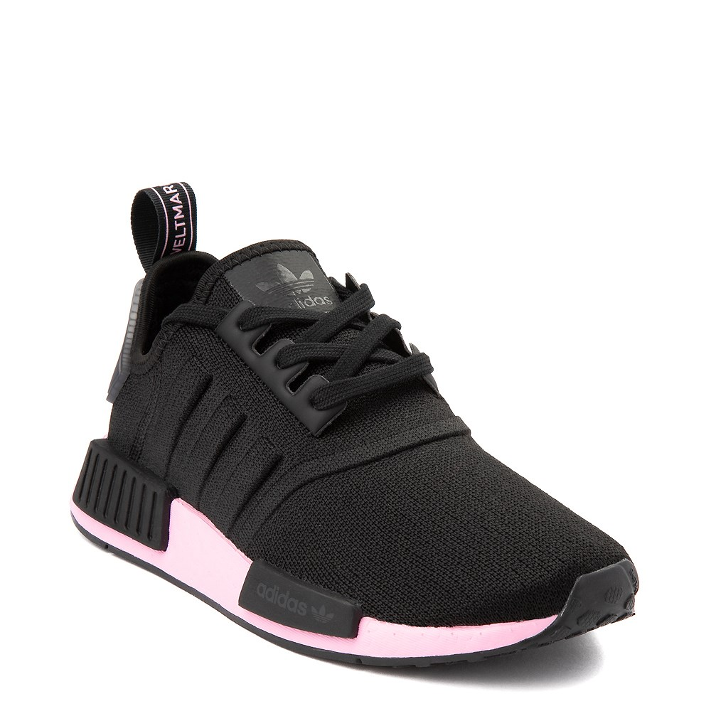 Womens Adidas Nmd R1 Athletic Shoe Black True Pink Journeys