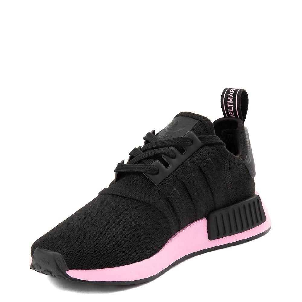 Womens Adidas Nmd R1 Athletic Shoe Black True Pink Journeys