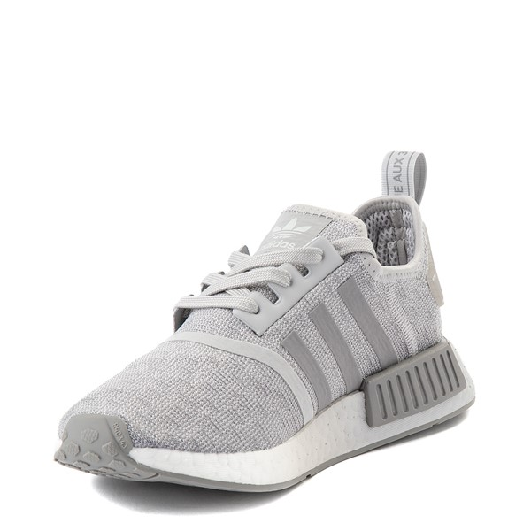 alternate view Womens adidas NMD R1 Athletic Shoe - GrayALT3