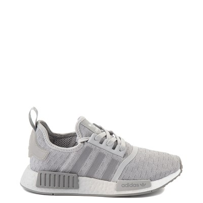 Main view of Womens adidas NMD R1 Athletic Shoe - Gray