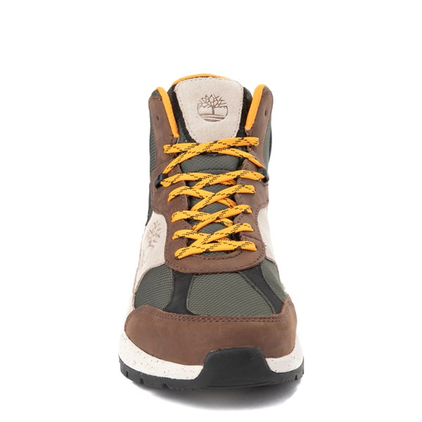 alternate view Mens Timberland Field Trekker Mid Boot - Dark Brown / TaupeALT4