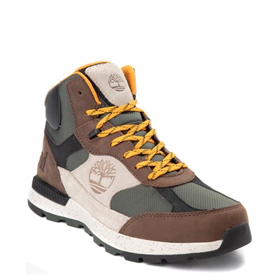 Alternate view of Mens Timberland Field Trekker Mid Boot - Dark Brown / Taupe