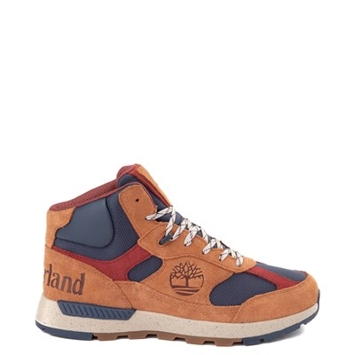Main view of Mens Timberland Trekker Boot - Brown / Navy