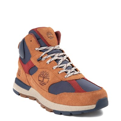 Alternate view of Mens Timberland Trekker Boot - Brown / Navy