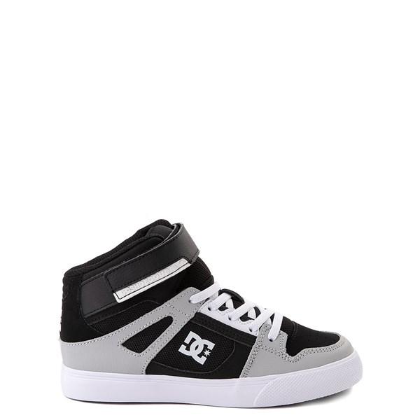DC Pure Hi EV Skate Shoe - Little Kid / Big Kid - Black / Gray