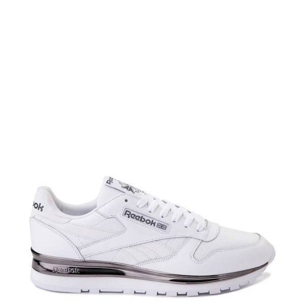 Main view of Mens Reebok Classic Athletic Shoe - White / Charcoal