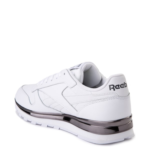 alternate view Mens Reebok Classic Athletic Shoe - White / CharcoalALT1