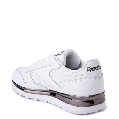 Alternate view of Mens Reebok Classic Athletic Shoe - White / Charcoal